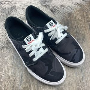 A bathing Ape- Aape x DC Camo Trace Sneakers